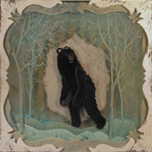 Black Bear acrylic on layered plexiglass by artist Ben Strawn: http://benstrawn.carbonmade.com/