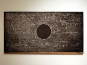 Eclipse Chalk, Blackboard 423 x 703 2009 Adam David Brown